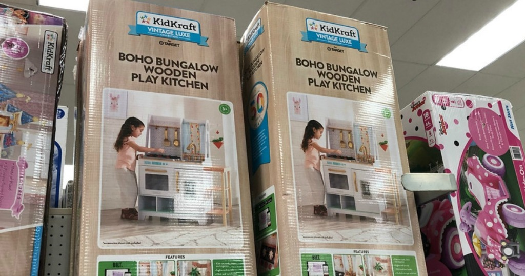 Kidkraft Wooden Play Kitchen Possibly Only 64 98 At Target