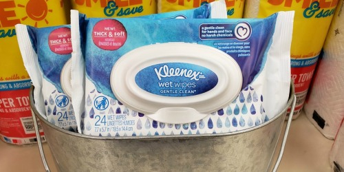 Kleenex Wet Wipes Only 49¢ Each After Cash Back at Walgreens