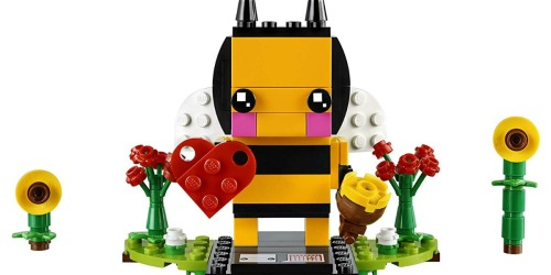 LEGO BrickHeadz Valentine's Bee Set Just $5.99 (Regularly $10)
