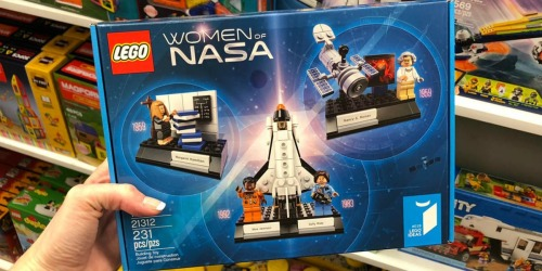 LEGO Ideas Women of NASA Set Only $15.99 (Regularly $25)