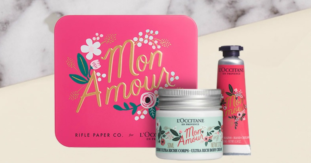 Free LOccitane Gift Set No Purchase Required In Store