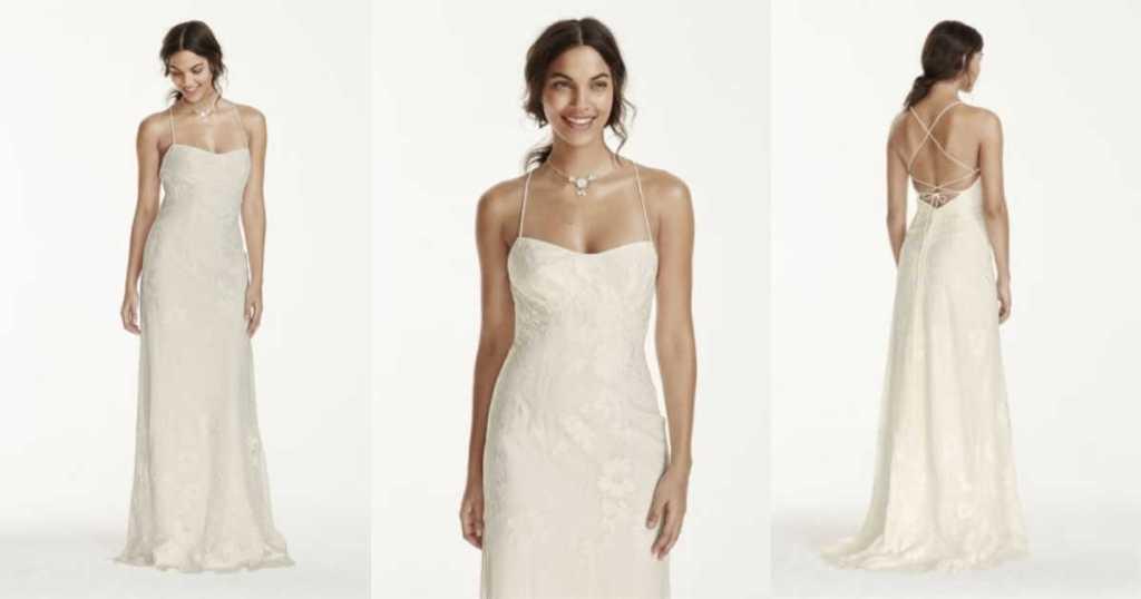 9c345b97adf0 David's Bridal Wedding Dresses as Low as $99, Bridesmaid Dresses ...