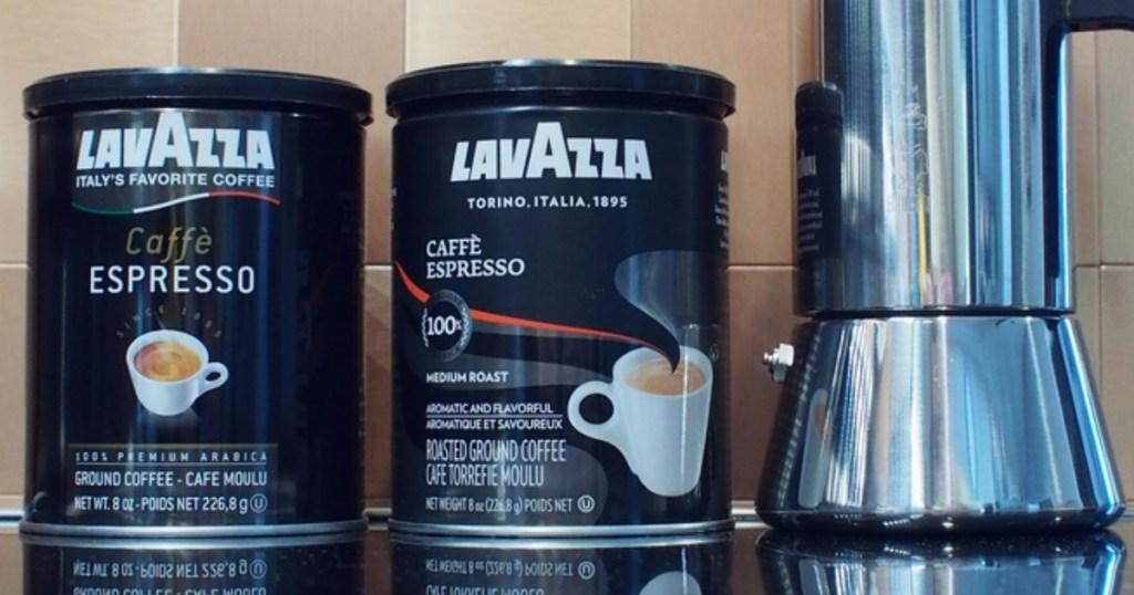 Amazon: Lavazza Caffe Espresso Ground Coffee 4-Pack Only