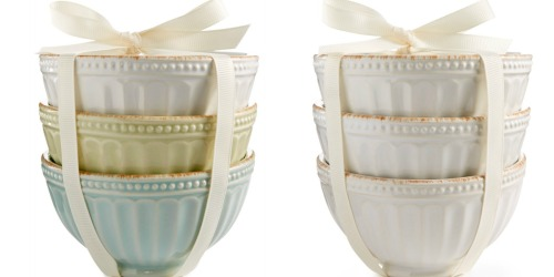 Lenox Stoneware 3-Piece Mini Bowl Set Only $5 (Regularly $15) at Macy's & More