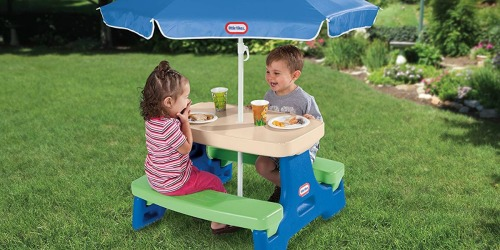 Little Tikes Picnic Table w/ Umbrella Just $35 Shipped at Walmart (Regularly $70)