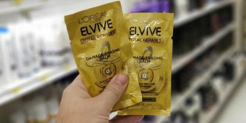 L'Oreal Elvive Damage Erasing Hair Masks Only 74¢ Each After Target Gift Card