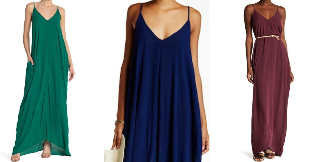 6543280ccf00e Love Stitch Gauze Maxi Dress Just  29.97 at Nordstrom Rack (Regularly  88)