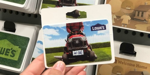 $50 Lowe's Digital Gift Card Only $45
