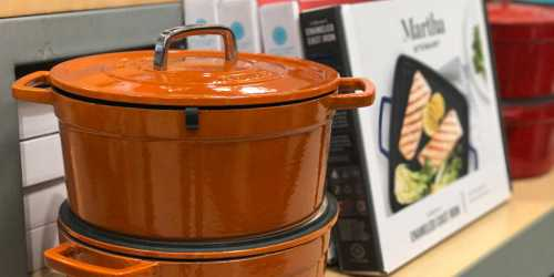 75% Off Martha Stewart Collection Cast Iron Cookware at Macy's