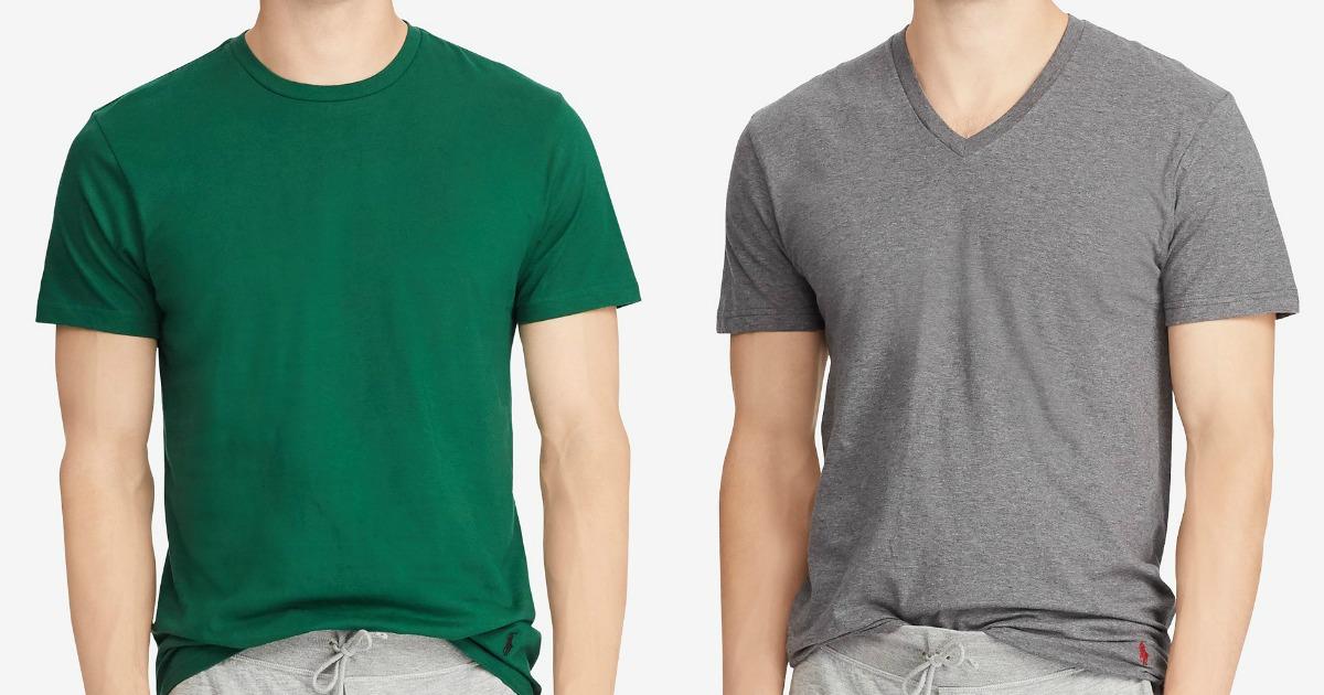 404dfc0fe Polo Ralph Lauren T-Shirt 4-Packs Just $17.77 at Macy's (Only $4.44 Each)