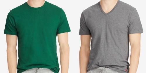 Polo Ralph Lauren T-Shirt 4-Packs Just $17.77 at Macy's (Only $4.44 Each)
