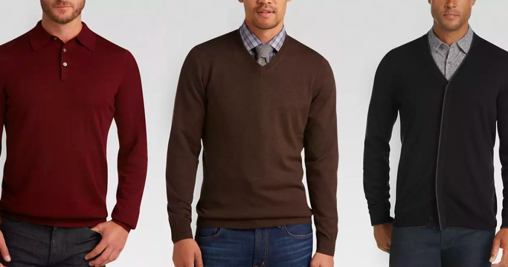 7798c1c2a9 Men s Wearhouse Merino Wool Sweater Just  11.99 Shipped (Regularly  90)    More