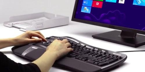 Microsoft Ergonomic Keyboard Only $14.99 Shipped (Regularly $35)