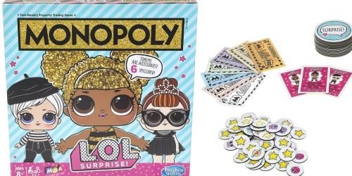 Monopoly L.O.L. Surprise! Game Only $24.99 on Amazon (Pre-Order)