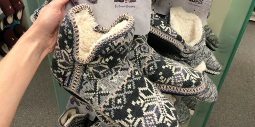 Up to 70% Off Muk Luks Women's Slippers + Free Shipping for Kohl's Cardholders