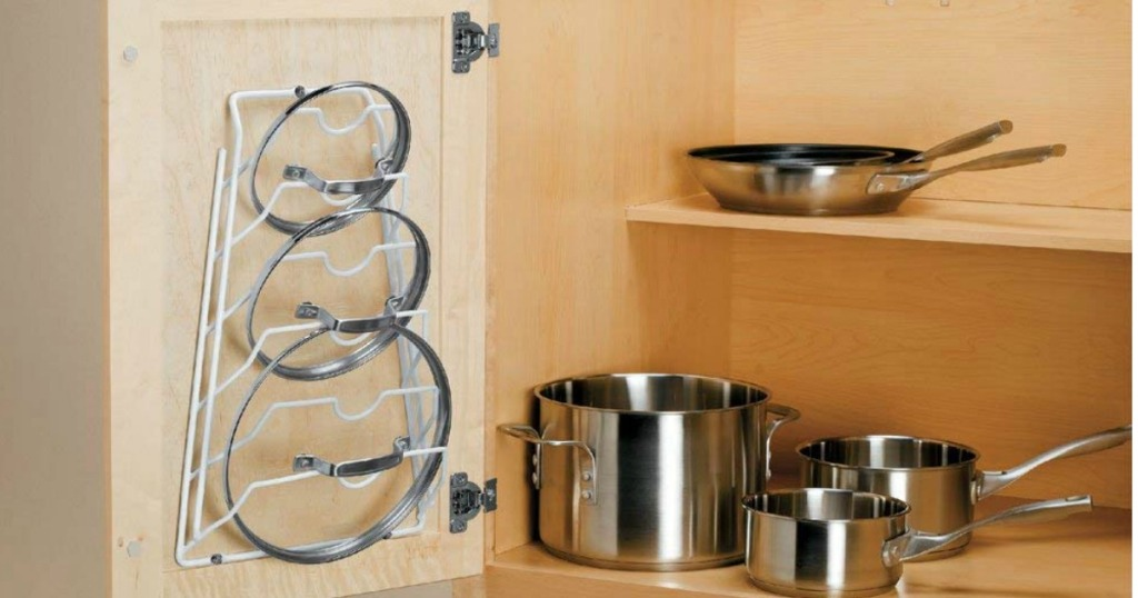 Cabinet Door Lid Rack Organizer Only 6 58