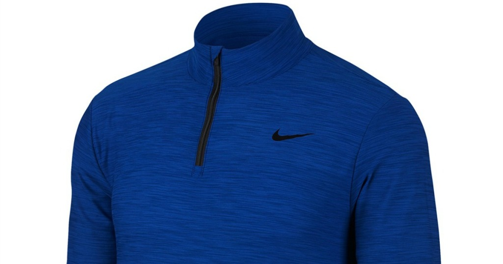 333e8663 Hop on over to Macy's.com where you can snag this Nike Men's Breathe Quarter -Zip Training Top for just $20 (regularly $40)!