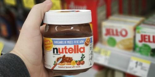 Nutella Hazelnut Spread Only 99¢ at Walgreens (Starting 2/24)