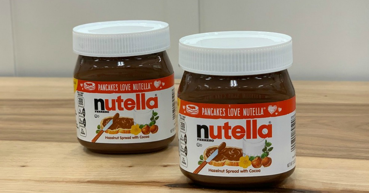 photograph relating to Nutella Printable Coupon identify Nutella Hazelnut Distribute 13oz Jar Merely $1.59 Once Money Again