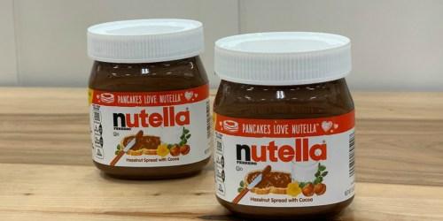 Nutella Hazelnut Spread 13oz Jar Just $1.59 After Cash Back at Target