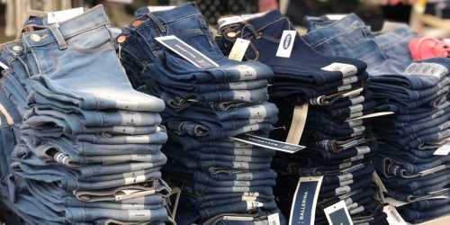Up to 50% Off Old Navy Jeans for the Family