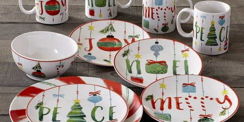 Macy's: Ornament 16-Piece Dinnerware Set Only $28.79 (Regularly $120) & More
