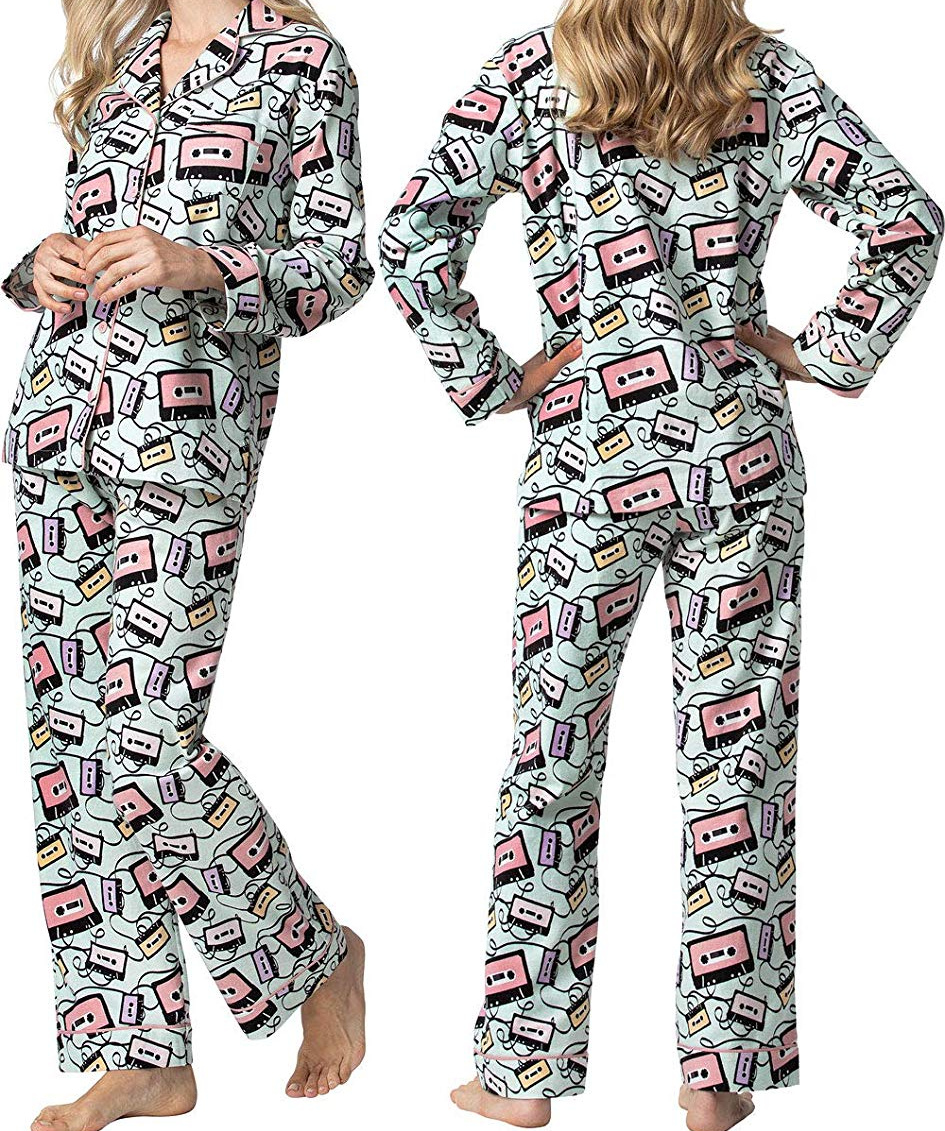 ebe6d67c6ec4 Amazon pajamagram womens button up flannel pajamas only shipped jpg  945x1131 Home depot pajamas
