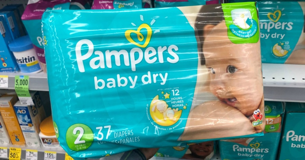 Pampers Baby Dry Diapers at Walgreens