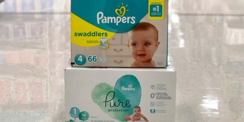 Pampers Diapers Super Packs Only $17.99 After Target Gift Card & More