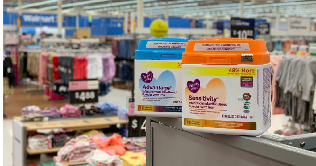 Parent's Choice Fomula at Walmart