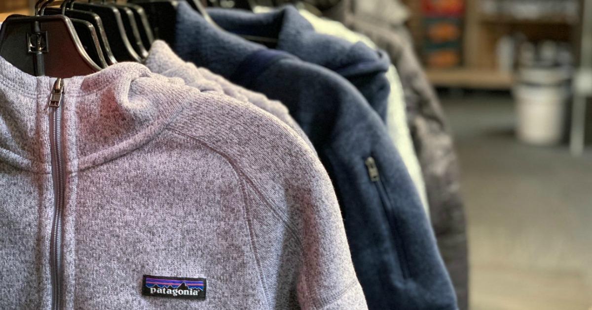 Patagonia jackets closeup