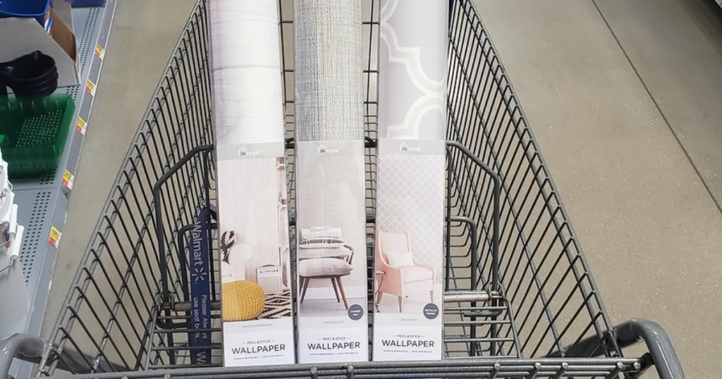 Up To 97 Off Peel Stick Wallpaper At Walmart Hip2save