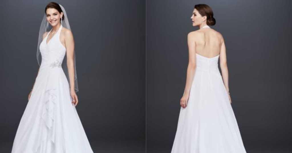 David's Bridal Wedding Dresses As Low As $99, Bridesmaid