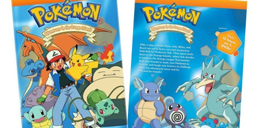 Pokémon Adventures in the Orange Islands Complete Collection DVD Set Only $5.99 (Regularly $20)