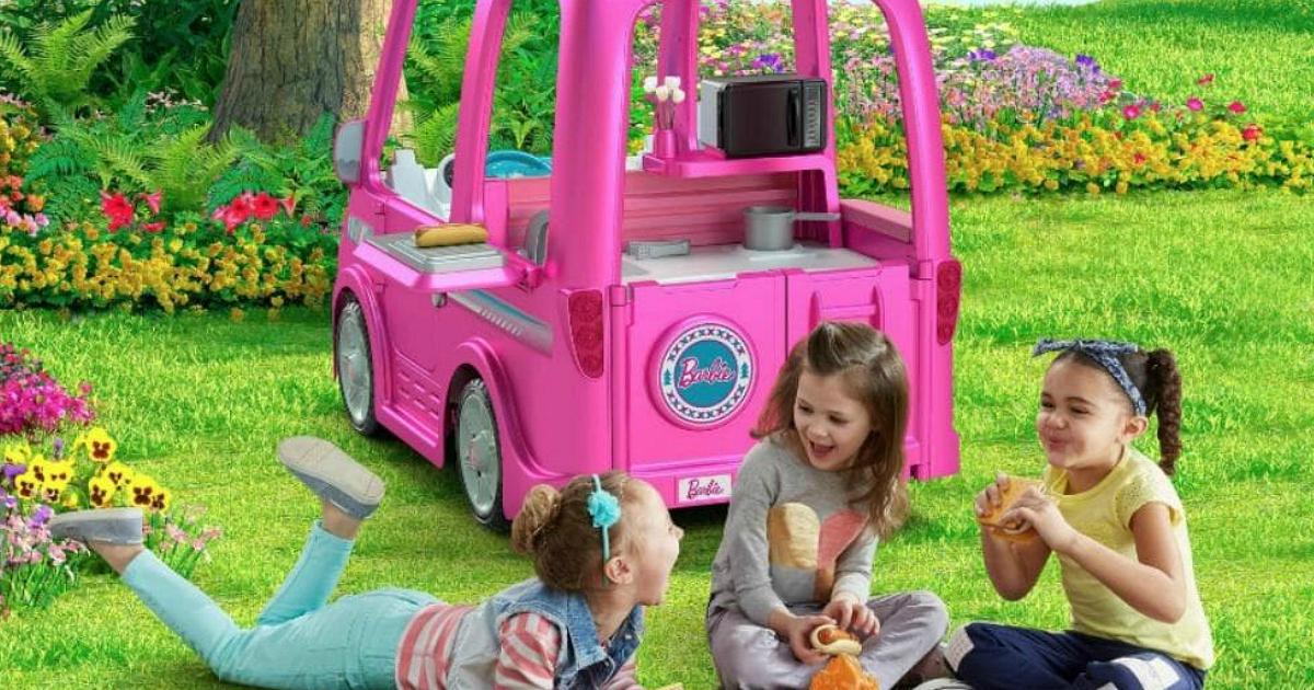 Fisher Price Walmart Recall Power Wheels Barbie Camper