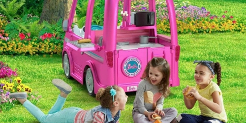 Fisher-Price Recalls 44,000 Power Wheels Barbie Dream Camper Ride-Ons Sold at Walmart
