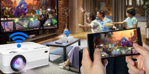Wireless LED Mini Projector Only $68.99 Shipped on Amazon