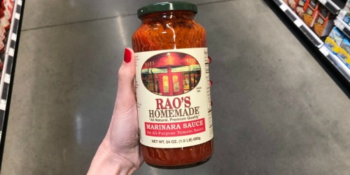 $4 Off Rao's Homemade Pasta Sauces at Whole Foods Market (Awesome for the Keto Diet)