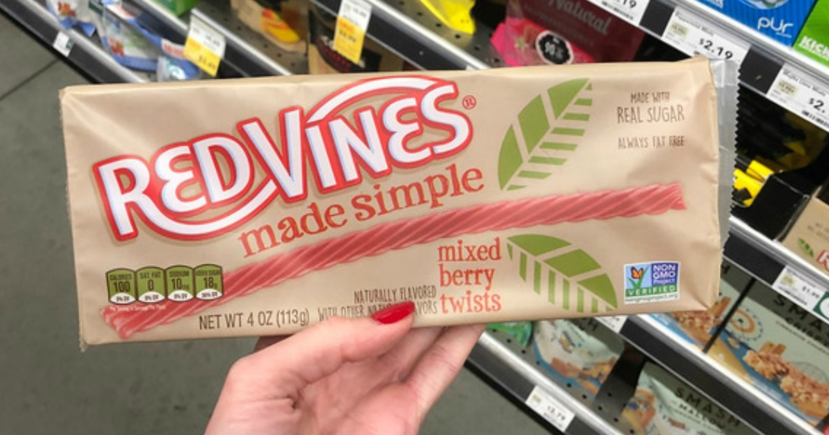 Red Vines Made Simple Only $1.24 at Whole Foods (No Harmful Red Dye ...