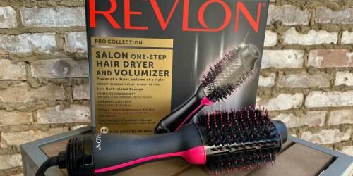 Revlon One-Step Hair Dryer & Volumizer Just $47.98 Shipped on Amazon (Amazing Reviews)