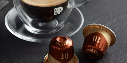 Peet's Coffee Ristretto Espresso Capsules 20-Count Just $14 Shipped + More