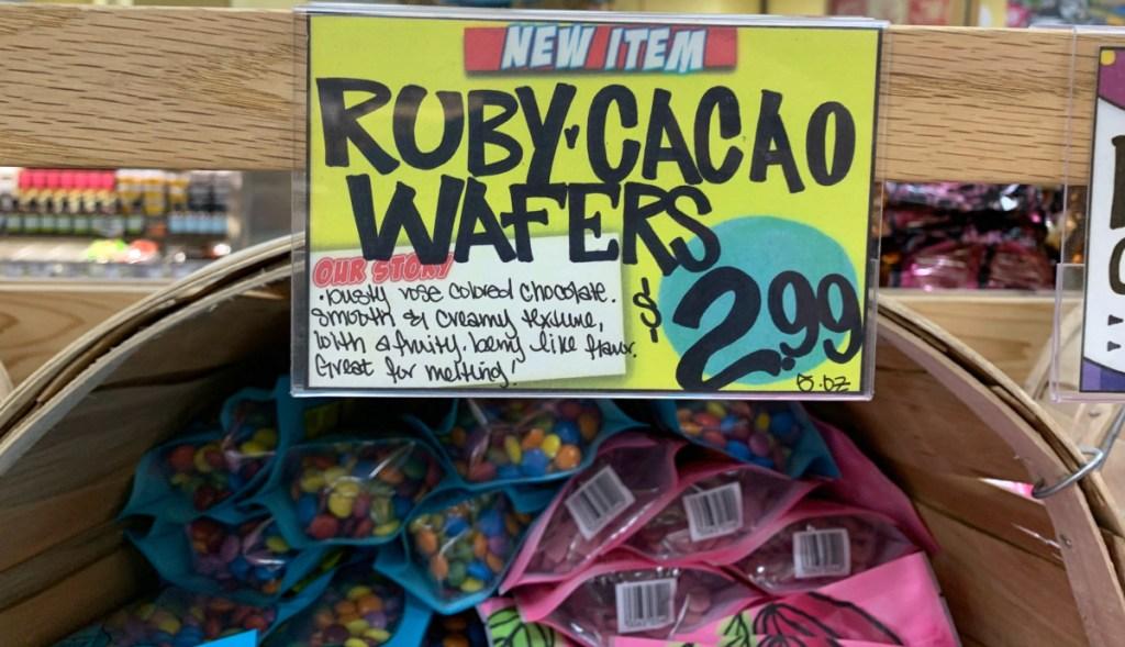 Ruby Cacao Wafers Trader Joe's