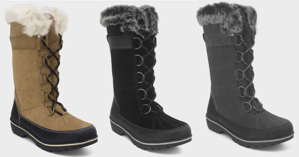 C9 Champion Women s Tall Winter Boots Just  34.99 at Target (Look Similar  to Sorel Boots) eff69514fb