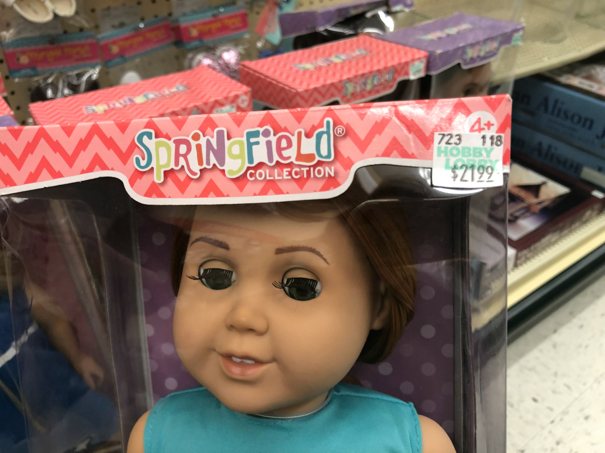 Springfield Collection dolls at Hobby Lobby