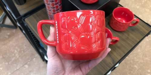 Up to 90% Off Starbucks Valentine's Day Cups & Mugs at Target
