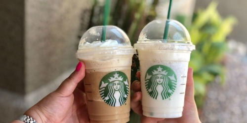 Free Starbucks Drink w/ Food or Drink Purchase 3/22-3/24 Only (Check Inbox)