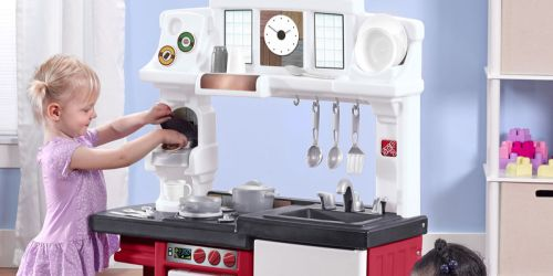 Step2 Coffee Time Play Kitchen Set with Toy Coffee Maker $52.88 Shipped (Regularly $80)