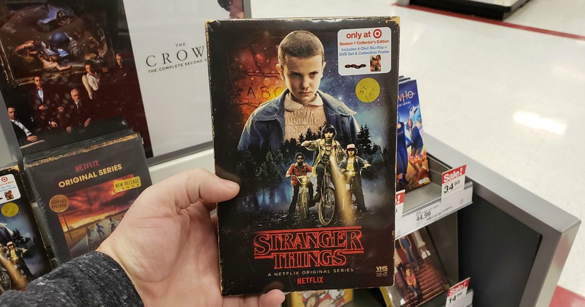 Stranger Things Season 1 Collector's Edition Blu-ray + DVD in Target