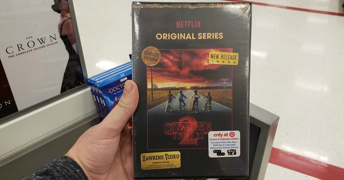 Stranger Things Season 2 Collector's Edition Blu-ray + DVD in Target