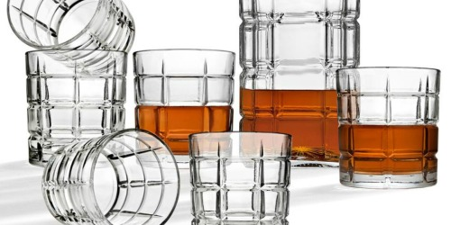 Crystal Decanter & Cocktail Glass 7-Piece Set Only $14.99 at Home Depot (Regularly $40)